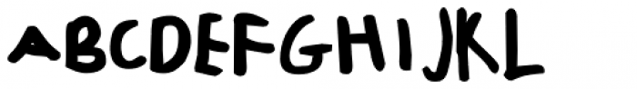 FF Childs Play Age Six OT Font UPPERCASE