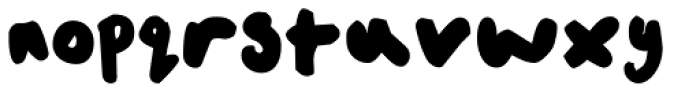 FF Childs Play Age Ten OT Font LOWERCASE