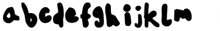 FF Childs Play Age Ten Pro Regular Font LOWERCASE