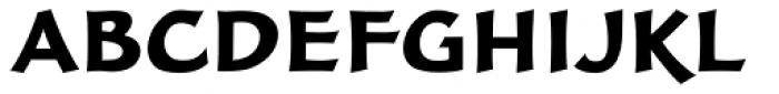 FF Clair OT Black Font UPPERCASE