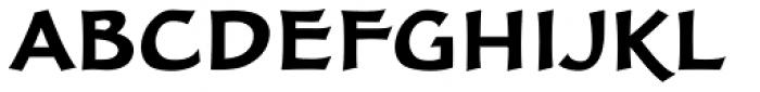 FF Clair OT Bold Font UPPERCASE
