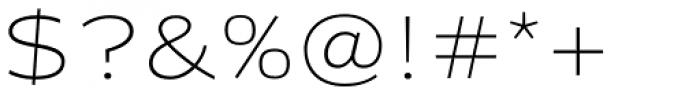 FF Clan OT Extd Thin Font OTHER CHARS