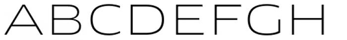 FF Clan OT Extd Thin Font UPPERCASE