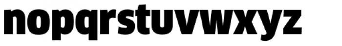 FF Clan OT Narrow Ultra Font LOWERCASE