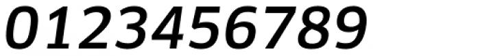 FF Clan Pro Medium Italic Font OTHER CHARS