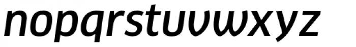 FF Clan Pro Medium Italic Font LOWERCASE