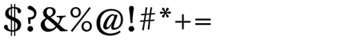 FF Clifford OT Nine Roman Font OTHER CHARS