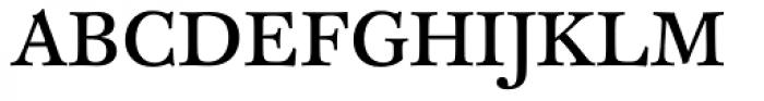 FF Clifford OT Nine Roman Font UPPERCASE