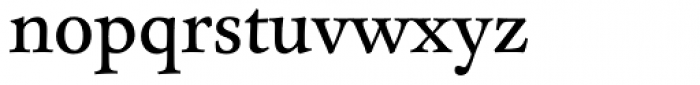FF Clifford OT Nine Roman Font LOWERCASE