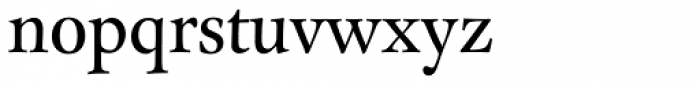FF Clifford Pro Eighteen Roman Font LOWERCASE