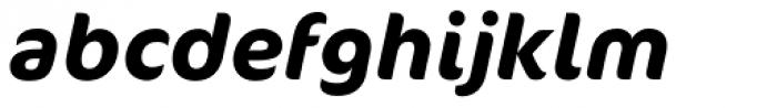 FF Cocon OT Bold Italic Font LOWERCASE