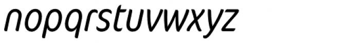 FF Cocon OT Cond Light Italic Font LOWERCASE