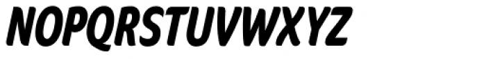 FF Cocon OT ExtraCond Bold Italic Font UPPERCASE