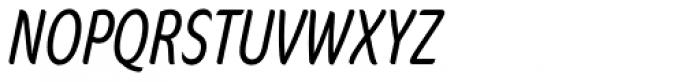 FF Cocon OT ExtraCond Light Italic Font UPPERCASE