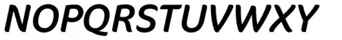 FF Cocon OT Italic Font UPPERCASE