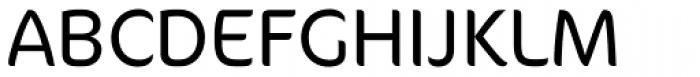 FF Cocon OT Light Font UPPERCASE