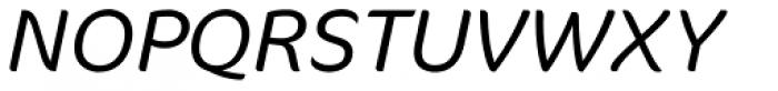 FF Cocon Pro Light Italic Font UPPERCASE