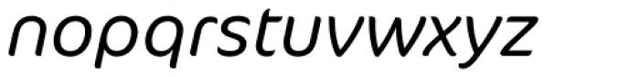 FF Cocon Pro Light Italic Font LOWERCASE