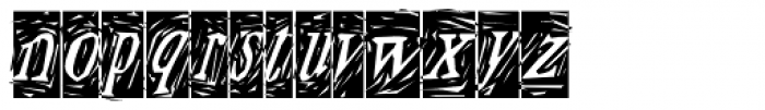 FF Craft Reversed OT Font LOWERCASE