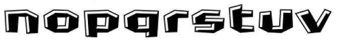 FF Crash Bang Wallop Highlight OT Font LOWERCASE