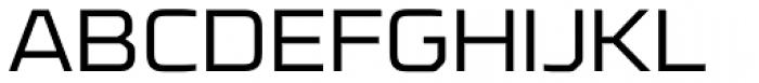 FF Cube OT Expanded Light Font UPPERCASE
