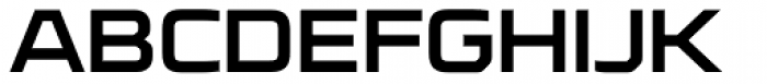 FF Cube OT ExtraExpanded Bold Font UPPERCASE