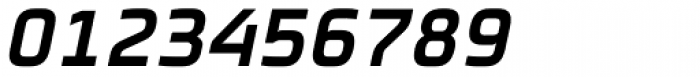 FF Cube Pro Condensed Bold Italic Font OTHER CHARS