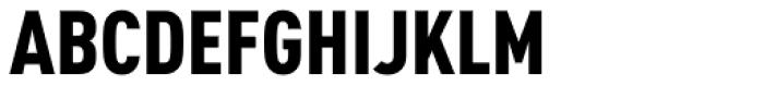 FF DIN Arabic Condensed Black Font UPPERCASE