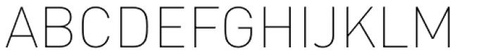 FF DIN Arabic Thin Font UPPERCASE