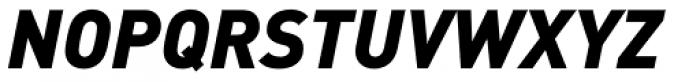 FF DIN OT Black Italic Font UPPERCASE