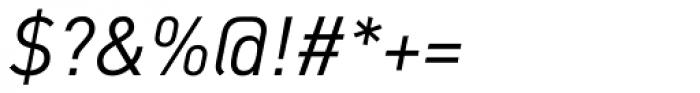 FF DIN OT Italic Font OTHER CHARS