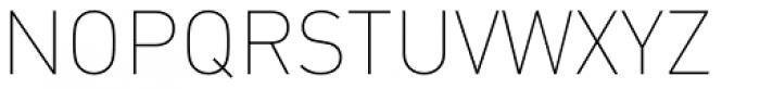 FF DIN OT Thin Font UPPERCASE