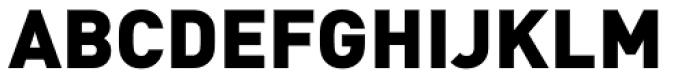 FF DIN Pro Black Font UPPERCASE