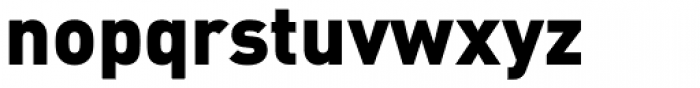FF DIN Pro Black Font LOWERCASE
