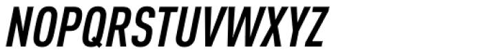 FF DIN Pro Cond Bold Italic Font UPPERCASE