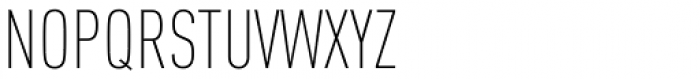 FF DIN Pro Cond ExtraLight Font UPPERCASE