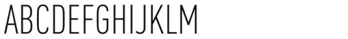 FF DIN Pro Cond Light Font UPPERCASE