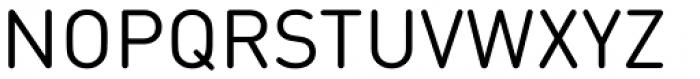 FF DIN Round Std Regular Font UPPERCASE