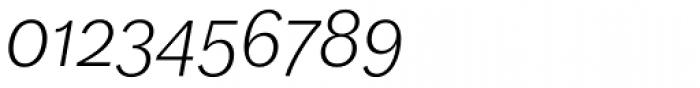 FF Dagny OT Light Italic Font OTHER CHARS