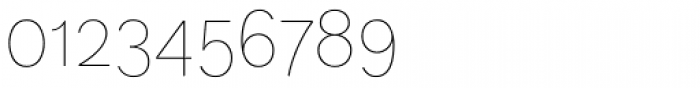 FF Dagny OT Thin Font OTHER CHARS