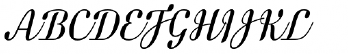 FF Danubia Script OT Font UPPERCASE
