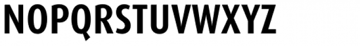 FF Dax OT Cond Bold Font UPPERCASE