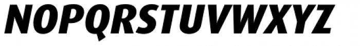 FF Dax Pro ExtraBold Italic Font UPPERCASE
