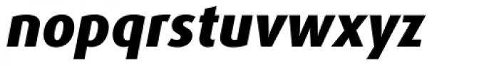 FF Dax Pro ExtraBold Italic Font LOWERCASE