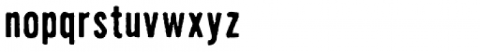 FF Dirty Std Seven Two Font LOWERCASE