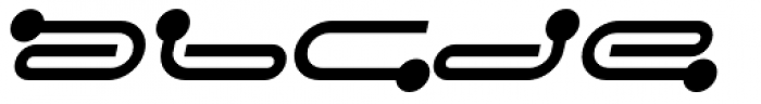 FF Droids Bold Italic Font LOWERCASE