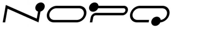 FF Droids Italic Font UPPERCASE