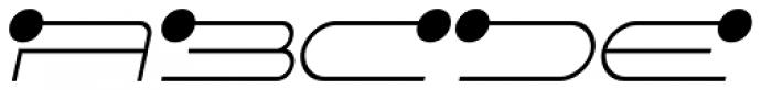 FF Droids Light Italic Font UPPERCASE