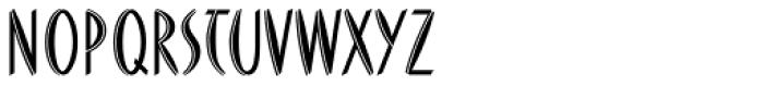 FF Du Moore Inline Font UPPERCASE