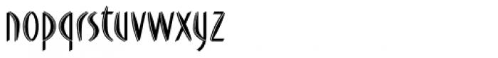 FF Du Moore Inline Font LOWERCASE